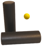 Bundle contains one roller and one ball