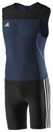 Adidas CL Wtlg Weightlifting Singlet Black Blue