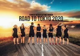 Finnish Weightlifting Women ROAD TO TOKYO 2020 -calender