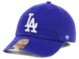 Los Angeles Dodgers Clean Up Cap Blue