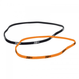 Zone Slim Hairband Black-Orange 2-pack