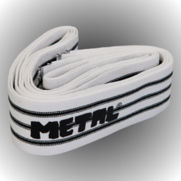 Metal Knee bandage Black Line (250 cm)