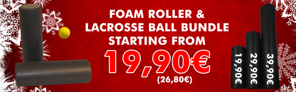 2017-12 Foam Roller & Lacrosse Ball Bundle
