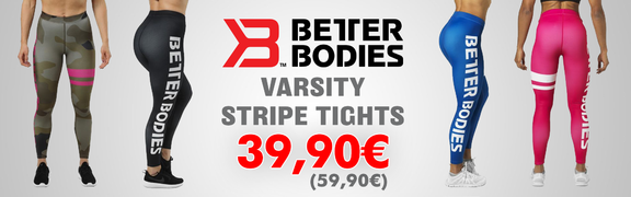 2018-02 Better Bodies Varsity Stripe Tights