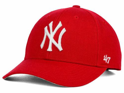 NY (New York Yankees) Cap Red  bff6b1992bd