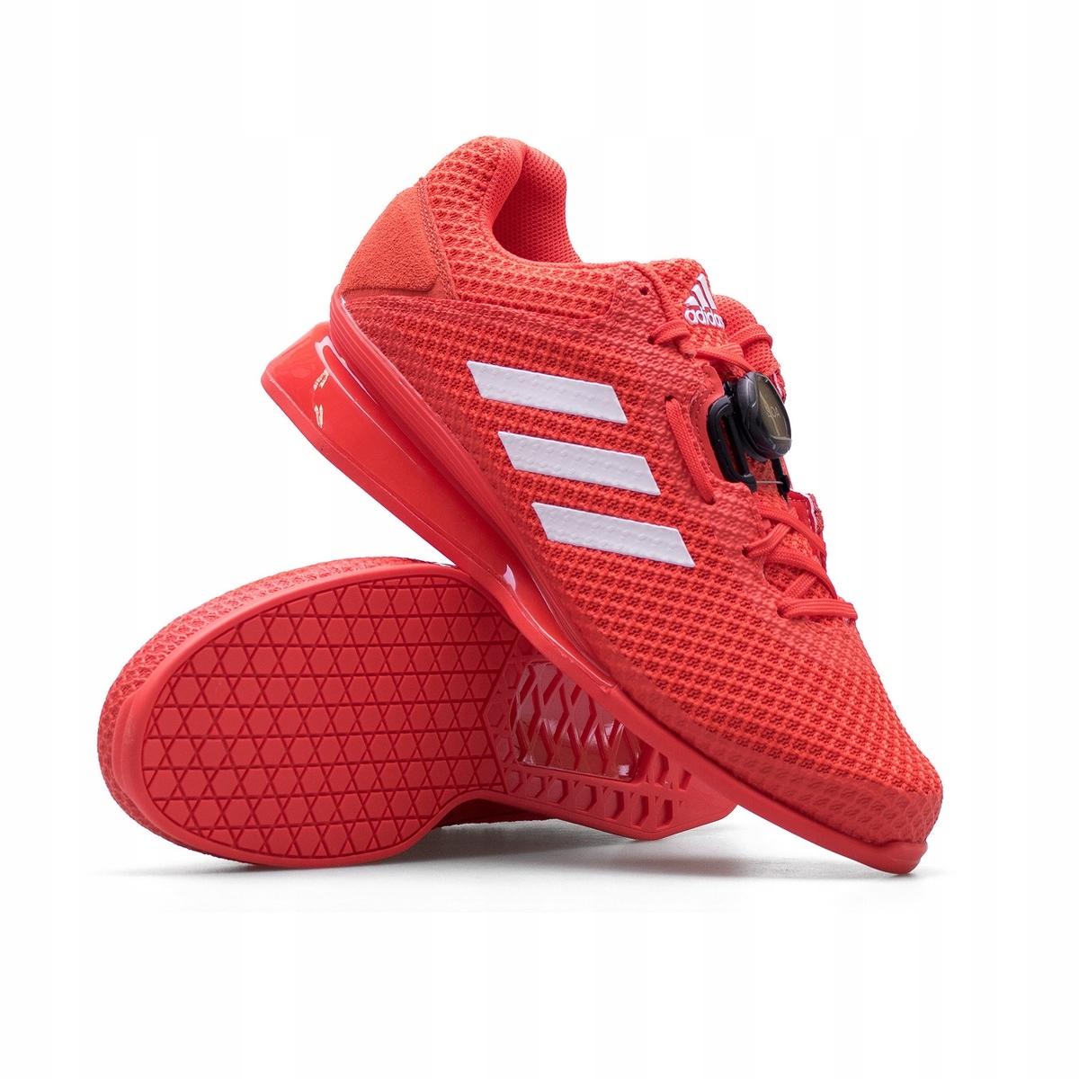 Groseramente Bienes dialecto  Adidas Leistung 1.6 II Red Weightlifting shoes   Sportheavy