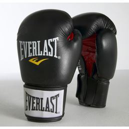 Everlast Ergo Moulded Foam Training Gloves(Leather)