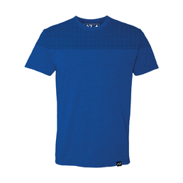 A7 Fitness Bar Grip Front Squat T-Shirt Blue