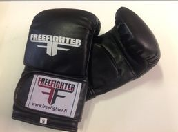 Free Fighter Real Leather Bag Gloves
