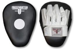 Free Fighter Focus Pads real leather fixed wristwrap