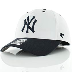 NY (New York Yankees) Cap Blue White  e9516b1254b