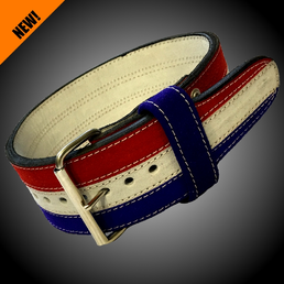 Metal 3-Color Powerlifting belt IPF