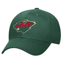 Reebok NHL Minnesota Wild Structured FlexFit -cap