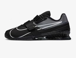 Nike Romaleos 4 Weightlifting Shoe - Black/Black/White
