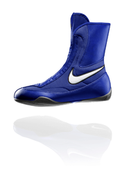 Nike Machomai Mid - Boxing Shoe (Blue/White)