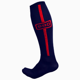 SBD Deadlift Socks Navy-Red SPECIAL EDITION