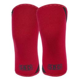 SBD Knee Sleeves 7 mm IPF accepted LIMITED EDITION Winter Range Red (2pcs)