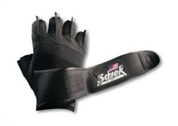 Schiek 540 Platinium Lifting Gloves with Wrist Wraps