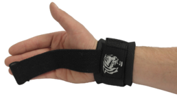 Sportheavy Wrist Wrap Lifting Strap with Dovel