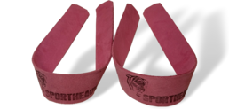 Sporheavy Leather Simple Lifting Strap 1.2 Pink Edition