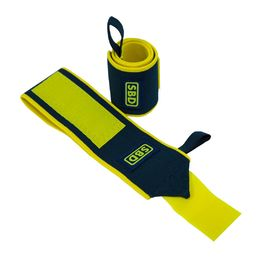 SBD Wrist Wrap Flexible IPF Approved Navy-Yellow Summer Range LIMITED EDITION