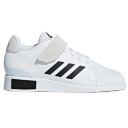 Adidas Power Perfect III - Weightlifting shoes White