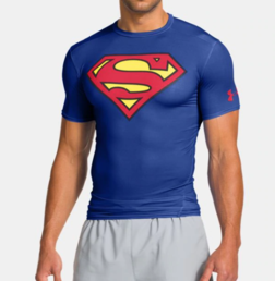 Superman - Blue/red