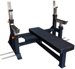 4r Competition Style Bench with safetybars