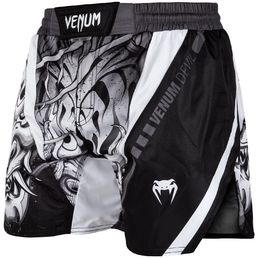 Venum Devil Fightsorts, Black-white