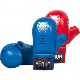 VENUM KARATE MITTS - WITH THUMB PROTECTION - EKF APPROVED