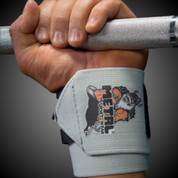 Metal Wrist bandage Silver IPF Approved