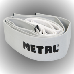 Metal Knee bandage Mystical Silver (300 cm)