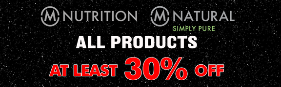 2018-11 Black Week - M-Nutrition & M-Natural - English