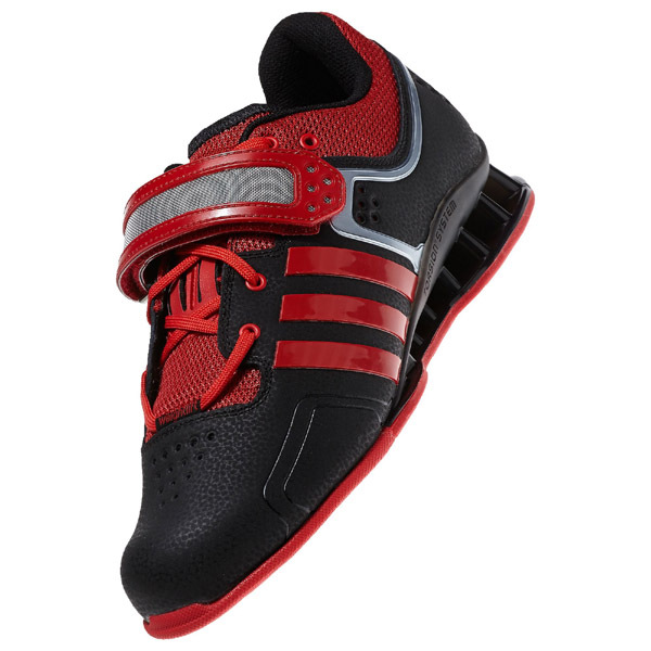 4526b9fca3491d Adidas AdiPower - Weightlifting shoes BLACK-RED