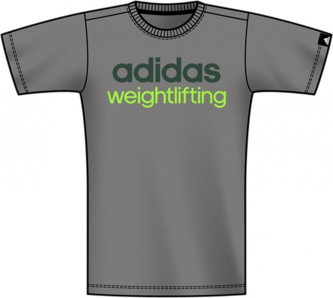 ... Adidas Weightlifting T-Shirt 7e43b76673