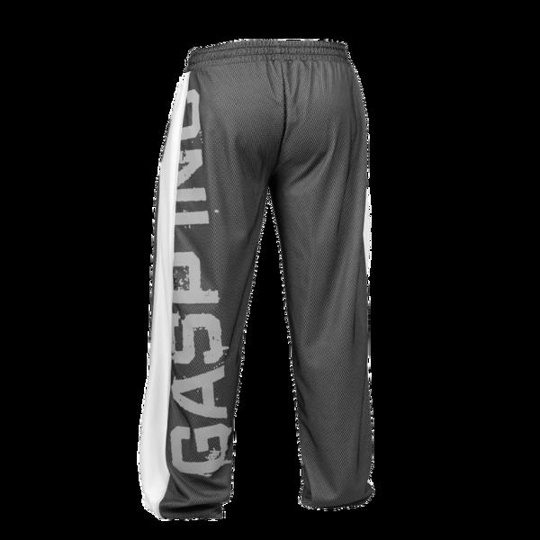Gasp No 1 Mesh pants  black//flame