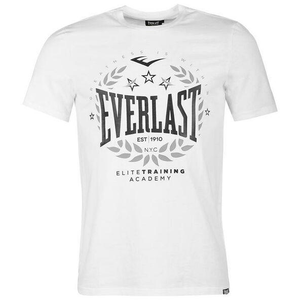 451883154da2 Loading… Everlast Laurel Logo T-Shirt White Black