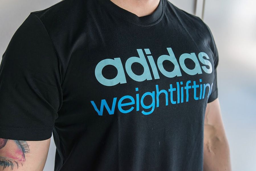 Adidas Weightlifting T-Shirt  85391e3585