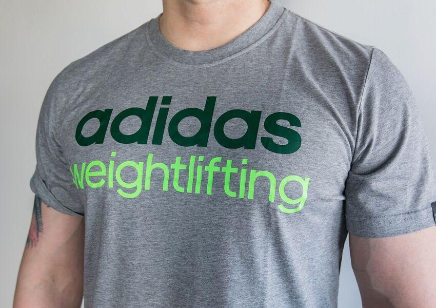 ... Adidas Weightlifting T-Shirt ... 28abbb090b